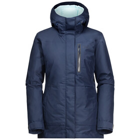 Jack Wolfskin North Tech Parka Dames, dark indigo